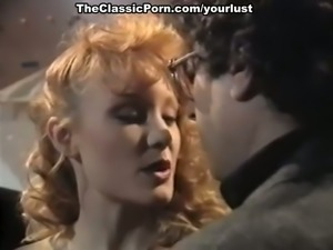 Alluring vintage babes Alicyn Sterling and Angela Summers in retro video