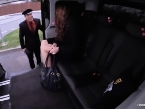 FUCKED IN TRAFFIC - Valentines Day car sex with Dutch babe