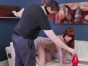Teen double penetration gangbang Slavemouth Alexa
