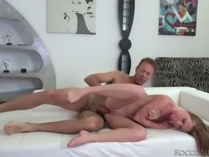 Angie Koks is getting boned by legendary cocksman Rocco Siffredi