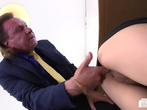 Nasty secretaries have a tendency to get laid at the office