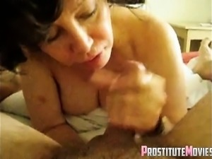 This chick really knows how to suck a cock