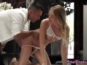 Babe assfucked hard by her lover