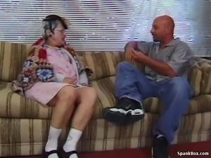 Granny vs Young Man