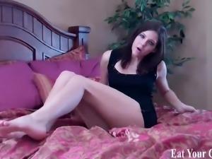 Make sure you eat every last drop of cum CEI