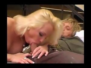 Blonde zwanger