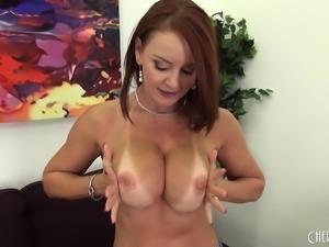 Busty and Beautiful Janet Mason Solo