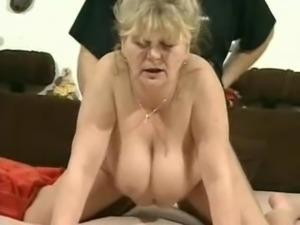 Superb looking Russian older woman masturbating and fucking