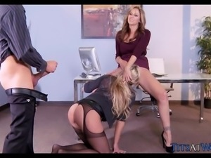 Seductive MILF Sluts at the Office