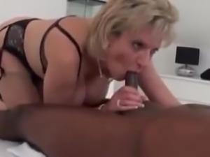 British Milf Milks A Black Cock