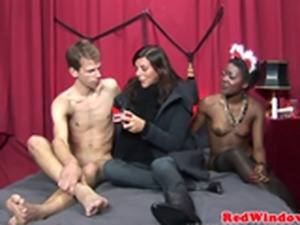 Black dutch hooker cocksucking before fucking