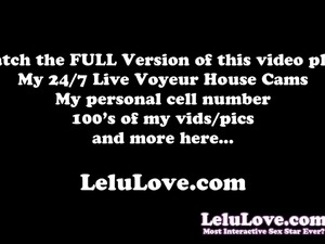 Lelu Love-Closeup Booty Twerking Asshole Pussy Spreading