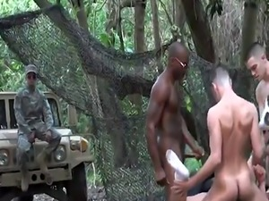 Super sex gay army and pinoy hunk hairy video A super-naughty training