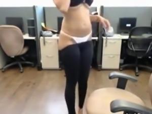 Big titty indian girl masturbates