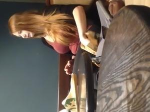 Home D20 - Redhead with big boobs (no porn)