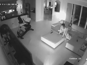 Couple fucking on hidden camera