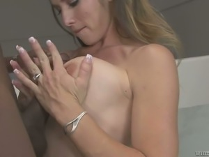 Felony loves getting a good fuck and she is a black cock addict
