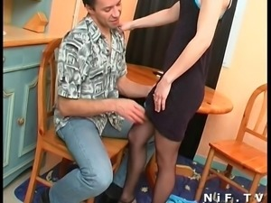 French blonde gets her tight ass fucked