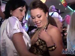 Foxy darlings get nailed at a party