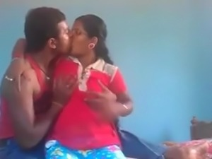 Indian Village Young Couple Energetic Sex On Webcam