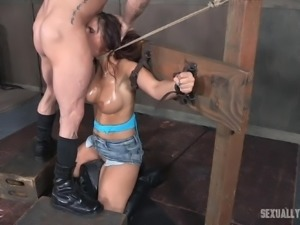 Her body is locked and she is brought down to her knees. Syren de Mer has to...
