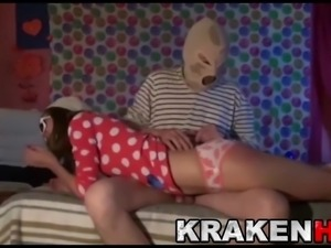 Krakenhot - Cute teen in an exclusive BDSM scene