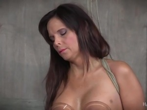 Syren is down for any type of sexual escapade, even with women. She's tied to...