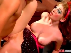 Faye Reagan Sucks A Thick Schlong
