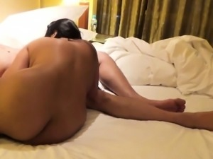 Hardcore sex with Wife in Hotel Room.