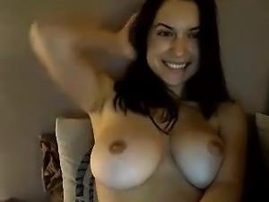 Hot Webcam Girl Huge Natural Boobs