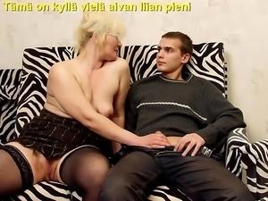 Slideshow with Finnish Captions: Mom Lena 5