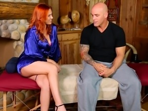 Redhead's dirty massage