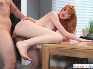 It is hypnotic the way Anny Aurora fucks and this chick is insatiable