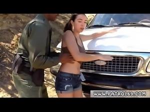 Ebony police xxx Latina Babe Fucked By the Law