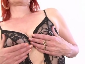 Mature Lady Interracial Hardcore Pussy Fucked and Swallows
