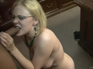 Horny Blonde Gets A Nasty Cumshot In Her Perfect Ass