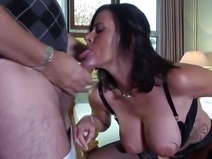 Huge busty German Mom