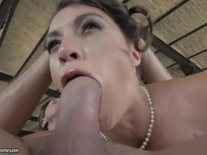 magnificent milf has her ass and mouth fucked