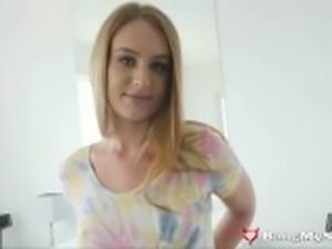 Beautiful Sis Daisy Stone Sucks & Fucks Her Horny Step-Bro