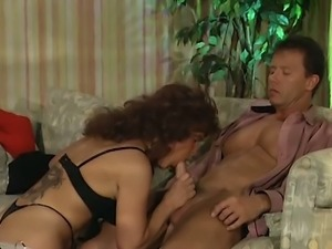 Mature housewife is riding big dick in reverse cowgirl position
