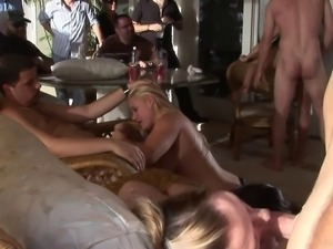 Dazzling amateur babes with natural tits enjoying her pussy being licked in...