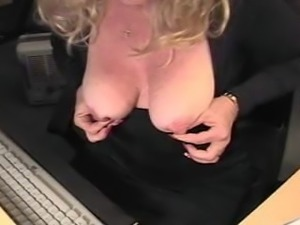 Mature with huge clit