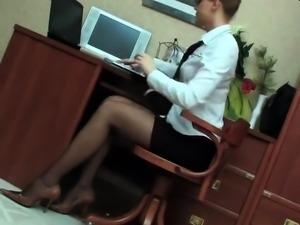 Strapon lesbian femdom spraying