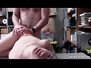 Taylor Blakes shoplifting pussy getting fuck sideways by the LP Officers cock!