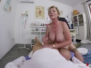 Big boob hairy 79 years old mom fucked by her doctor