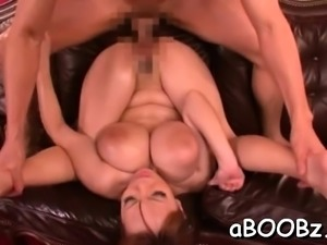 Prurient Hitomi Tanaka gets filled with slim jim