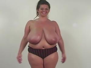 Fat Girl Saggy Tits 1