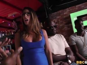 Black Team Gangbang BBC Slut Dava Foxx