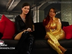 Serve mother and daughter as chastity and pleasure slave