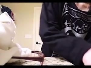 Pretty amateur teen exposes her perky boobs on hidden cam
